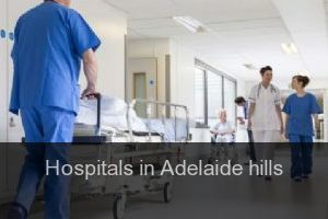 Hospitals in Adelaide hills (City)