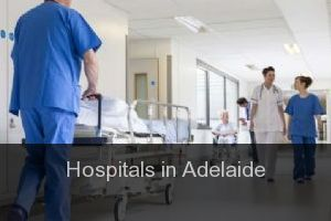Hospitals in Adelaide (City)