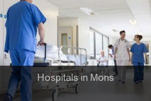 Hospitals in Mons