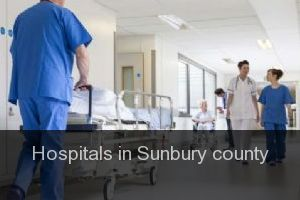 Hospitals in Sunbury county