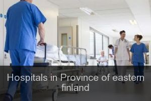 Hospitals in Province of eastern finland