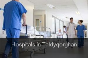 Hospitals in Taldyqorghan