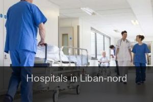 Hospitals in Liban-nord