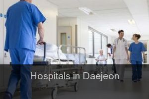 Hospitals in Daejeon (City)
