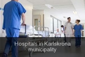 Hospitals in Karlskrona municipality