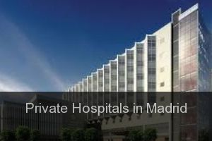 Private Hospitals in Madrid