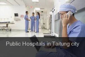 Public Hospitals in Taitung city